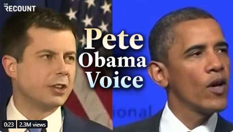 BUSTED: Pete Buttigieg Busted for plagiarizing former President Barack Obama Speeches
